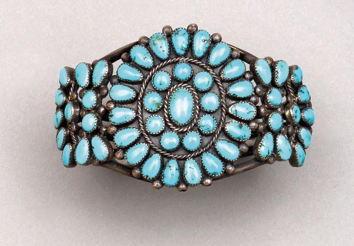 Les bijoux des indiens Navajo
