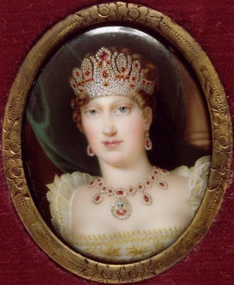 6 Portrait de Marie-Louise, Salomon-Guillaume Counis, d'après Jean-Baptiste Isabey