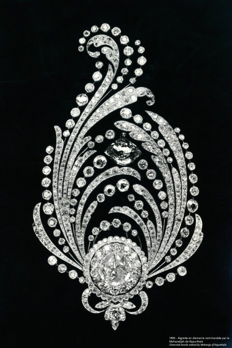 1905 - Diamond aigrette