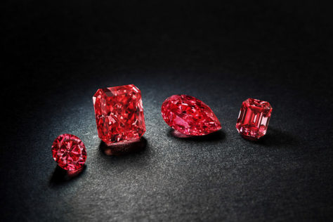 Argyle Pink Diamonds Fancy red diamonds
