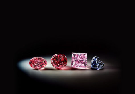 Argyle pink diamonds tender