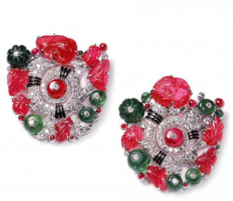 Clips tutti frutti, Cartier NY 1929, cartier collection